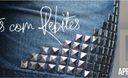 Como personalizar um jeans/roupa com spikes/rebites