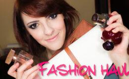 Fashion Haul (comprinhas) 07/12 Bolsas e Perfumes