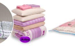 Organizando a bagunça do guarda roupas