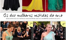 Top 10 vestidos do ano!