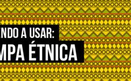 Aprendendo a usar: estampa étnica