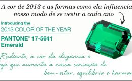 Inspirações pra usar o verde esmeralda