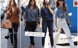 O básico inspirador: jeans!