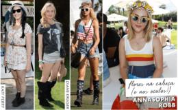 Os looks do Festival de Coachella 2013!