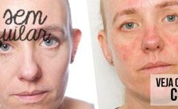 1 Mês sem retirar a maquiagem: Como fica a pele?