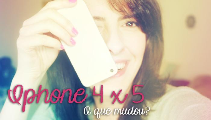 Iphone 4 4s 5 Qual é a Diferença