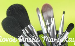 Novos pincéis de maquiagem Mary Kay
