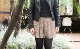 Eu usei… Short saia de oncinha