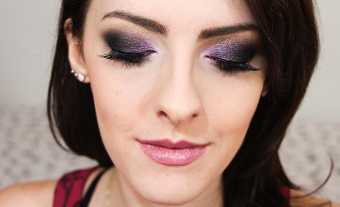 Maquiagem Roxa para Festa (2)
