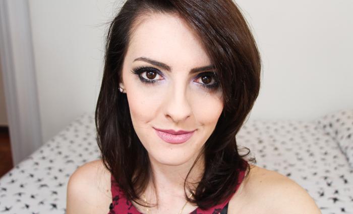 Maquiagem Roxa para Festa (1)