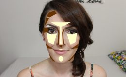 Makeup Kim Kardashian: Contorno de Rosto