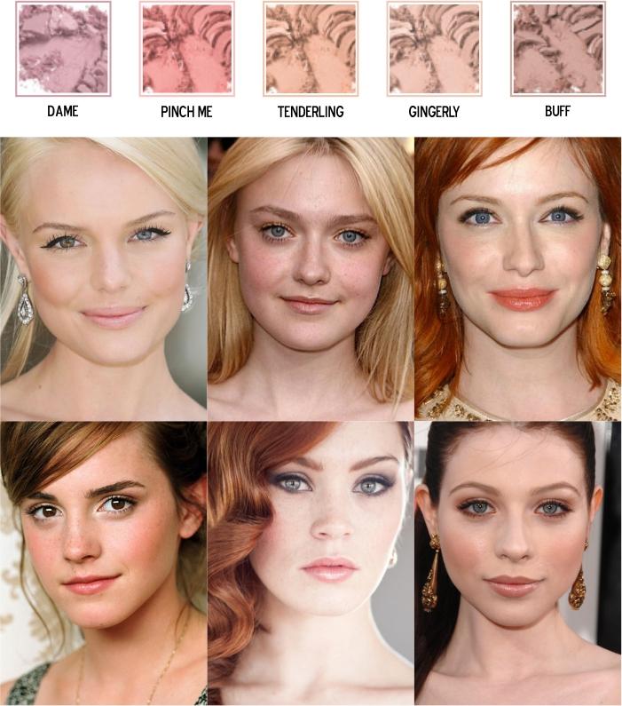Cores de blush para pele morena negra clara ou média (3)