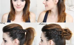 Como fazer 3 penteados super fáceis com trança