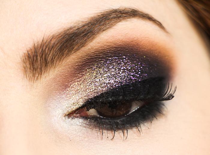 como fazer maquiagem roxa para noite balada (8)