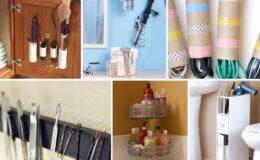 Dicas e idéias para organizar maquiagem e cosméticos