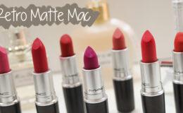 Batons Retro Matte Mac