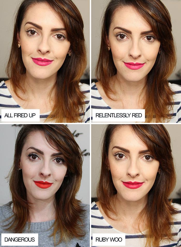batom retro matte mac swatch lipstick (4)