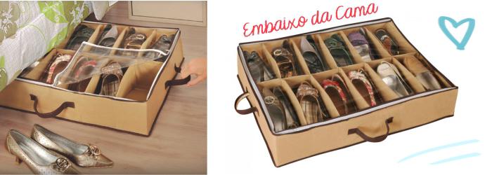 Como organizar sapatos com pouco espaço (1)