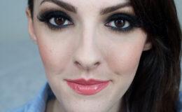 Maquiagem Preta com Laranja com novas sombras da Sephora
