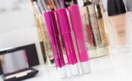 Batons e Glosses Revlon ColorBurst e Just Bitten Kissable