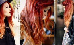 Fire Ombré Hair, uma nova modalidade de ruivo
