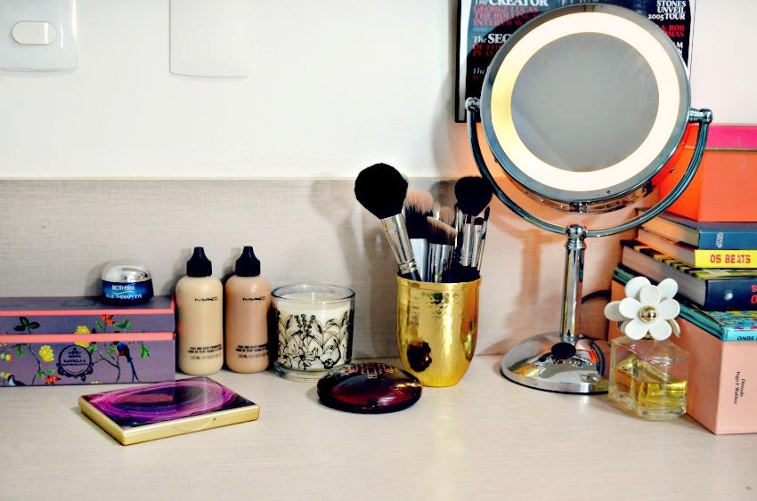 10 dicas para organizar e decorar seus cosmeticos maquiagem abc de beleza