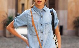 Camisa jeans: uma peça básica