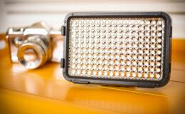 Usando LED para iluminar suas fotos