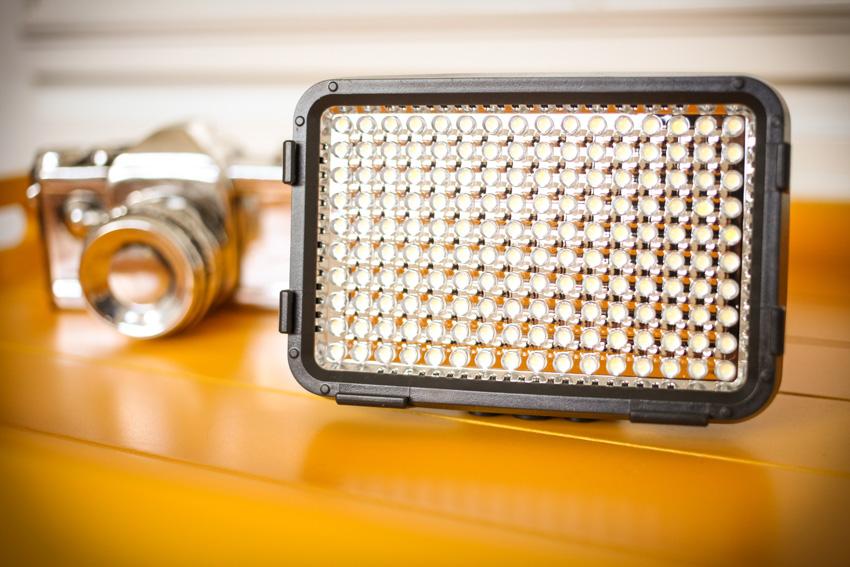 Usando LED para fotografar 1