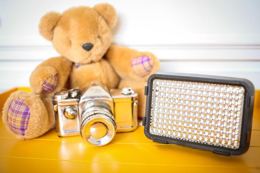 Usando LED para fotografar 2