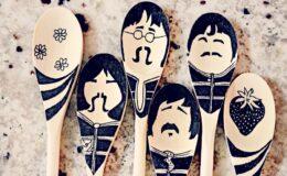 DIY: Como fazer uma colher de pau personalizada dos Beatles