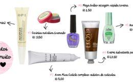 6 produtos que uso para cuidar das unhas