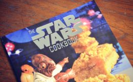 Livro de receita divertido e geek