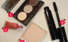 Montando seu kit básico de maquigem