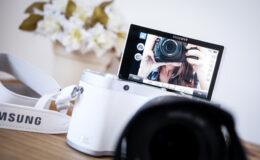 Resenha (review) da câmera Samsung NX300M