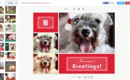 Cartões de Natal personalizados com fotos