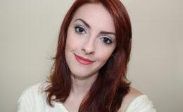 Maquiagem para Ano novo, Natal ou Festa: Branco com Glitter!