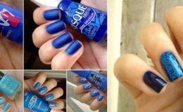 Inspiração: esmalte azul!