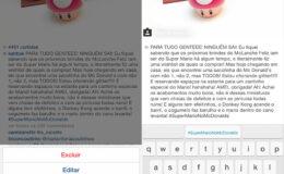Finalmente podemos editar a legenda do instagram!