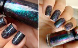 Inspiração: esmalte preto!