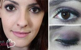 Usando sombra roxa sem ficar com olho roxo!