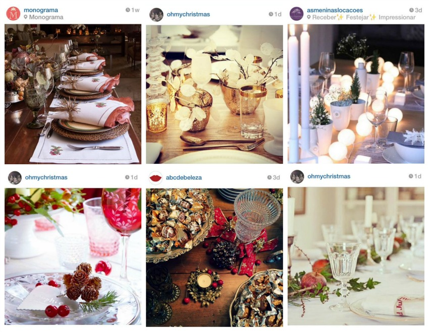foto instagram mesa de jantar ceia abc de beleza