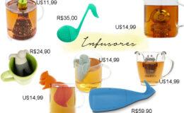 8 Infusores de chá divertidos para a sua cozinha