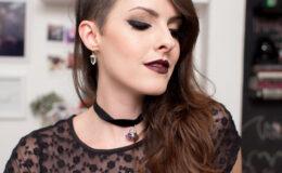Tutorial de maquiagem: Gótica Suave