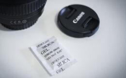 """Usando """"Sílica Gel"""" para evitar fungos nas lentes fotográficas"""