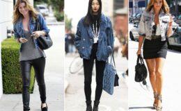 Jaqueta jeans: várias formas de usar
