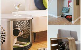 Idéias práticas e divertidas para decorar o espaço dos pets