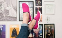 O sapato mais confortável do mundo