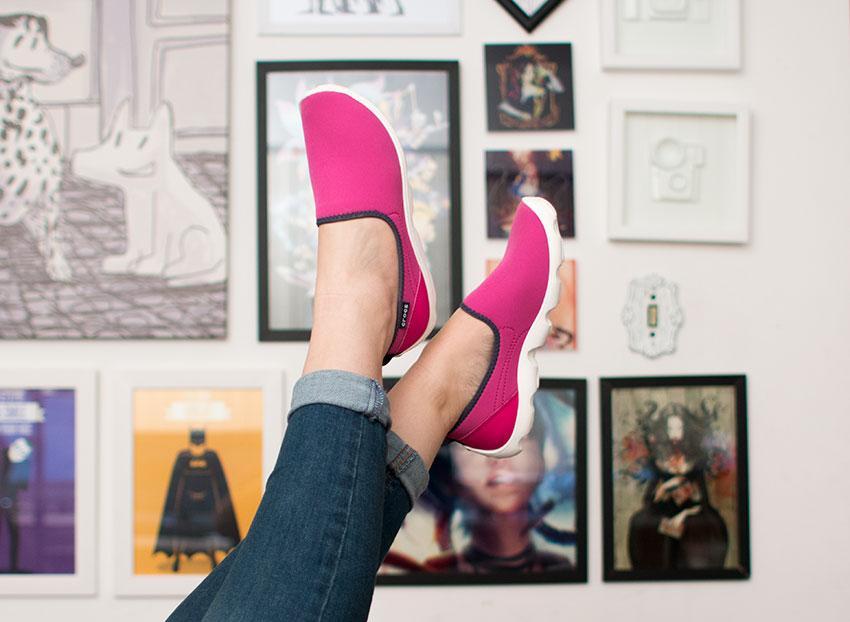 c23fce458 Semana passada eu participei de um desafio muito legal com a Crocs: montar  3 looks com o mesmo sapato – o sapato mais confortável que já usei na vida.