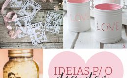 Ideias de presentes para o dia dos namorados (DIY's)
